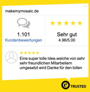 Trusted Shops MakeMyMosaic