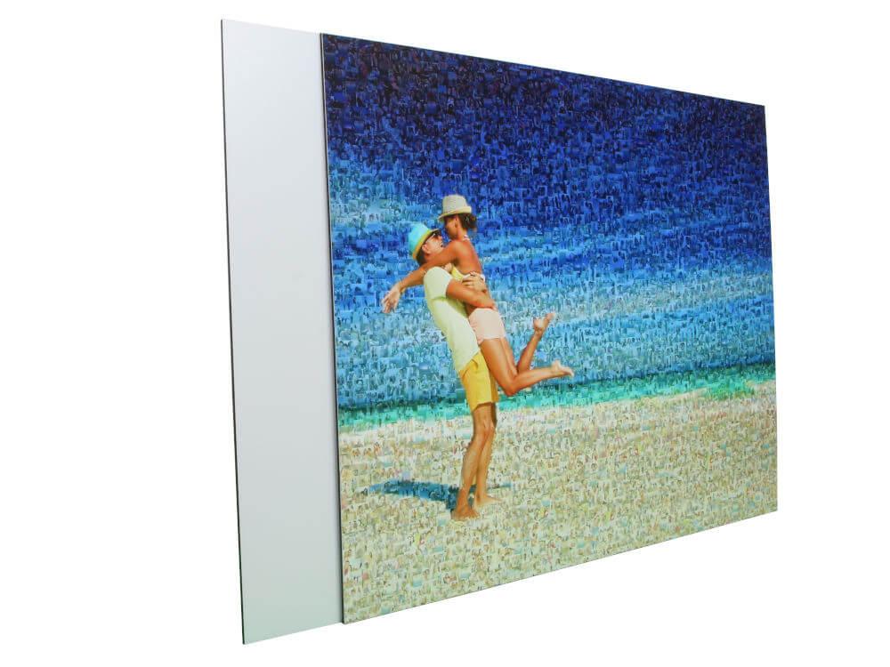 Teilmosaik Paar am Strand